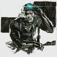 Metal Gear Solid V: Ground Zeroes by Kuvshinov-Ilya