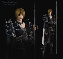 Captain Langmar design by Precia-T