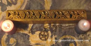 Pentacle and Fire by GuitarInk