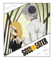Soul Eater: Marie and Stein by Daminitri
