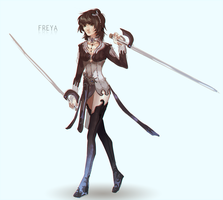 AS: Freya E15 by Dragons-Roar