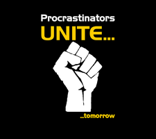 Procrastinators Android Wallpaper by Strayker