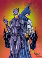 Mike Turner Bat and Cat by Hawkwind25
