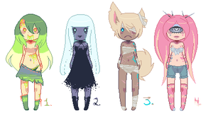 Tiny adopts -CLOSED- by SelfishBlood