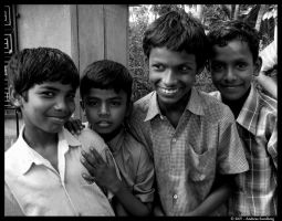Children of India by Harlequinesque84
