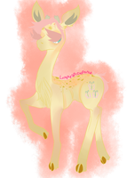 Deer Fluttershy For Lumpy by CountlecterMD