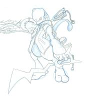 Mewtwo the Keyblade Master by gilpi