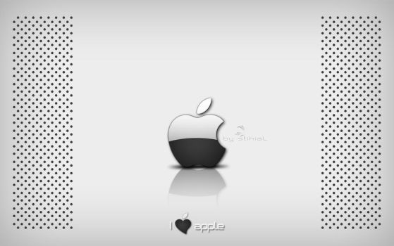 i love apple. by xxxSTIHIALxxx