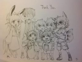 Project Thank You by Shiyado
