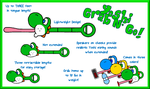Design a Yoshi Toy Contest Example by AwsmYoshi