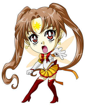 Sailor Sun Chibi by ArtistMeli
