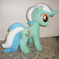 My Little Pony Lyra Heartstrings Plush by GraphicPlanetDesigns