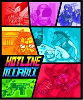 Hotline Miami (2) by gelboyc