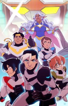 Team Voltron by om-nom-berries
