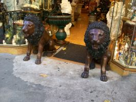 China Town Lions by DigitalVampire107