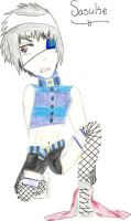 Cell Block Tango Sasuke by HalfShadow96