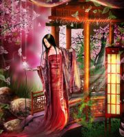 Oriental fantasy.... by moonchild-ljilja