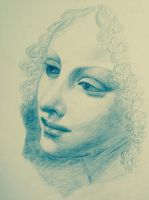 portrait drawing by artlover-us