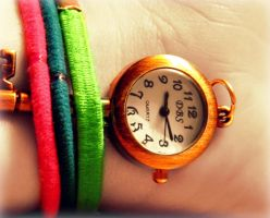 Watch Necklace 3 by RainbowCartilage