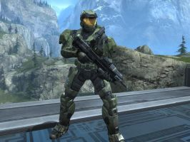 Master Chief in Halo Reach by KATTALNUVA