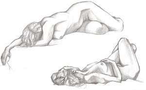 figure drawings I by animal-sacrifice