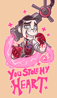 Medic's valentine by Fluro-Knife