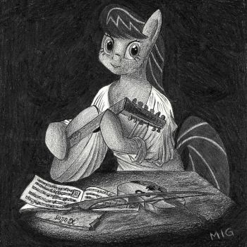 Octavia's Lute by ManeInGreen
