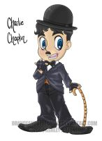 Charlie Chaplin cutie by Orangeandbluecream