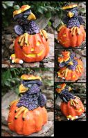 Gryph-O-Lantern by CandaceBell