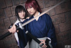 Kenshin and Tomoe @ Con-G 2012 - Preview 1 by alucardleashed