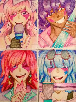 Jem and the Holograms fan art by Artfrog75