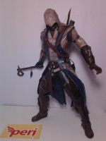 Connor Kenway Papercraft by coajalah