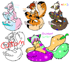 Ice Cream Themed Tailmouthes :OPEN: by Ink--Beast