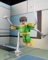 Doctor Octopus On The Move by luke314pi