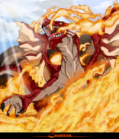 Igneel - Flame Dragon         FAIRY TAIL by Csontra