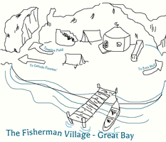 The Fisherman Village of Great Bay by Holographic-Neku