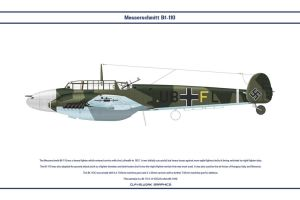 Bf 110 C ZG26 1 by WS-Clave