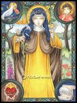 Saint Catherine of Sienna by natamon
