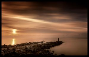 tranquillity and meditation by Crossie