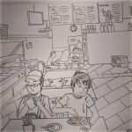 Hangout At Mamak by budoxesquire