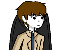 Supernatural Talksprite - Mad/Upset by HollyTheEpicKitten