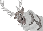 Sven the Reindeer [Frozen] by Sunset-Kennel
