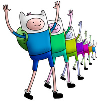 aDvEnTuRe TiMe :D Finn by Ashleykat
