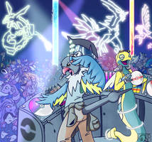 Arceus Is My DJ by kompy
