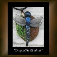Pendant Dragon Fly by KabiDesigns