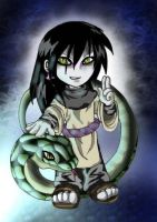 chibi Orochimaru --colored-- by Evolvana