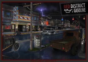 Red light district by Hellpat