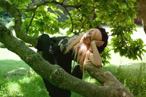 Sarah // Tree III by Contempt-of-Pain