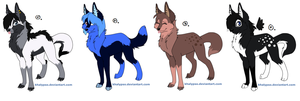 Cheap Point Adoptables - CLOSED - by Naama-kirja