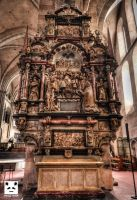 Trier Cathedral HDR 3 by snuglyPanda